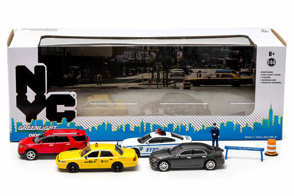 Greenlight New York City Traffic Scene Diorama 56090