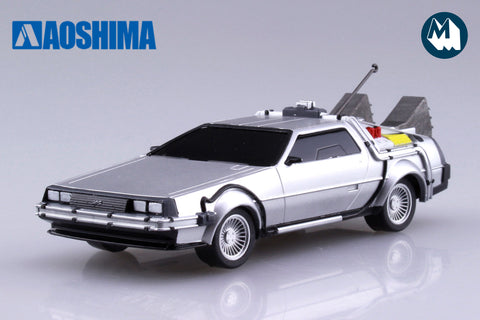 1:43 - DeLorean Time Machine from Back to the Future