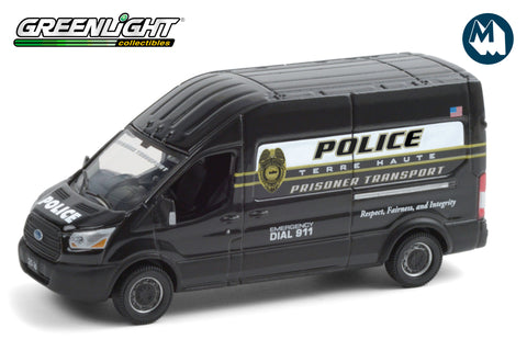 2020 Ford Transit LWB High Roof - Terre Haute, Indiana Police Prisoner Transport