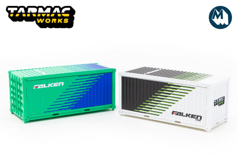 Tarmac Works - 1/64 Containers Set (Falken)
