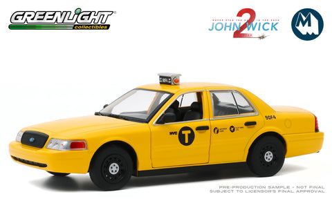 1:24 - John Wick: Chapter 2 / 2008 Ford Crown Victoria Taxi