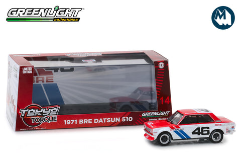 1:43 - 1971 Datsun 510 / #46 Brock Racing Enterprises (BRE)