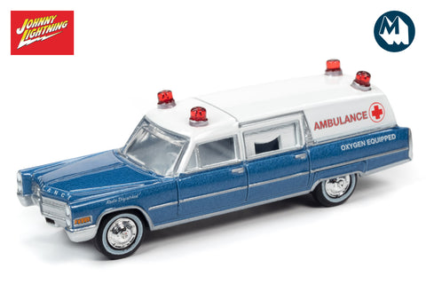 1966 Cadillac Hearse (Ambulance) - Blue