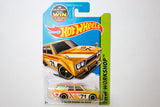 202/250 - Yellow '71 Datsun Bluebird 510 Wagon