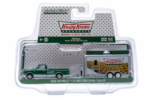 1968 Chevy C-10 and Krispy Kreme Food Truck Trailer