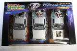 1:24 - DMC DeLorean Time Machine Gift Box / Back to the Future I, II & II