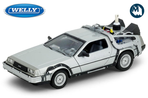 1:24 - DMC DeLorean Time Machine / Back to the Future II