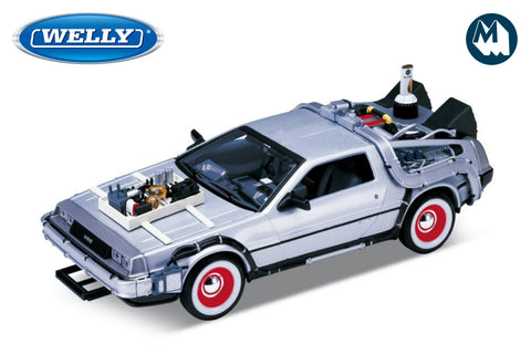 1:24 - DMC DeLorean Time Machine / Back to the Future III