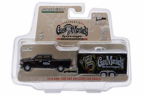 2014 Ram 1500 and Enclosed Car Hauler - Gas Monkey Garage (2012-Current TV Series)