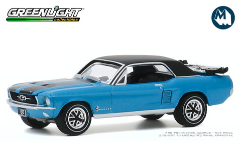 "1967 Ford Mustang Coupe ""Ski Country Special"" - Vail Blue"