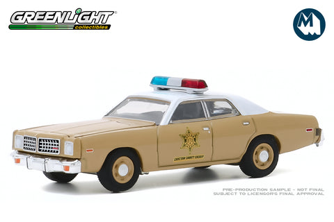 1975 Dodge Coronet - Choctaw County Sheriff