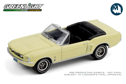 1967 Ford Mustang Convertible High Country Special - Aspen Gold