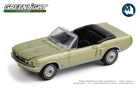 1967 Ford Mustang Convertible Sports Sprint - Lime Gold