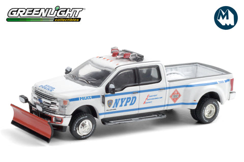 2019 Ford F-350 Dually - New York City Police Dept (NYPD) Class 3 Hazmat with Snow Plow