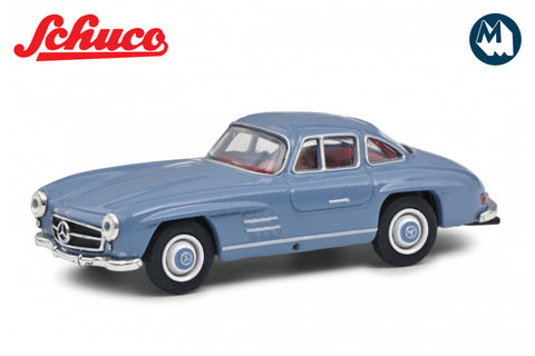 Mercedes-Benz 300 SL (Gullwing Blue)