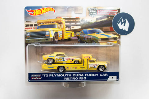 #04 - '72 Plymouth Cuda Funny Car / Retro Rig