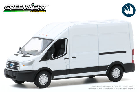 2015 Ford Transit LWB High Roof (Oxford White)