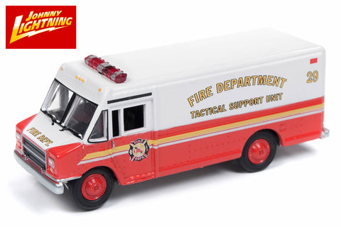1:87 Scale - 1990's GMC Step Van (Fire Department Support Unit)