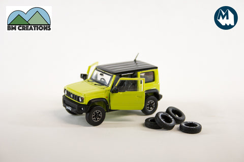 Suzuki Jimny (JB74) - Kinetic Yellow