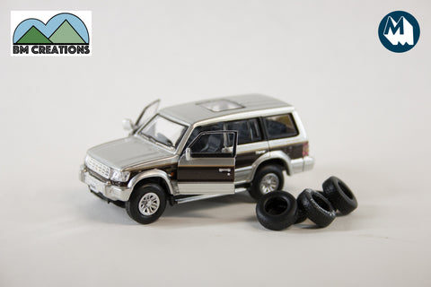 Mitsubishi Pajero - Brown Stripe