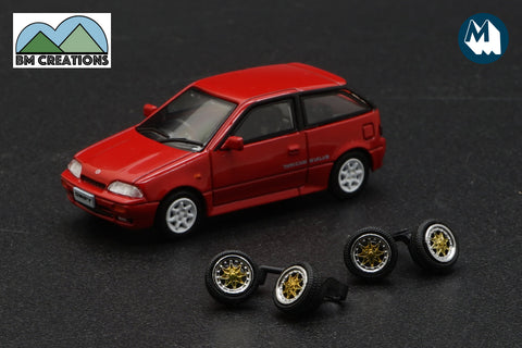 1989 Suzuki Swift GTi (Red)