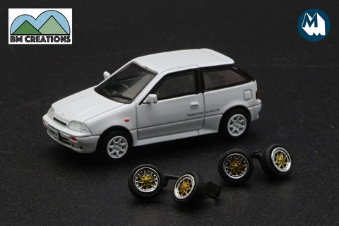1989 Suzuki Swift GTi (White)