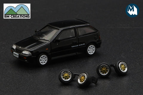 1989 Suzuki Swift GTi (Black)