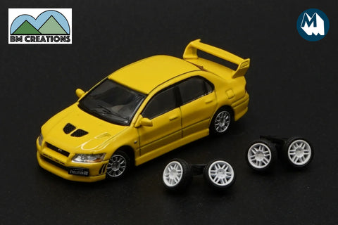 Mitsubishi Lancer Evolution II (Yellow)