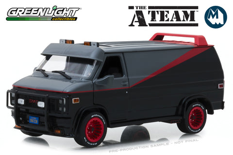 1:24 - The A-Team / 1983 GMC Vandura