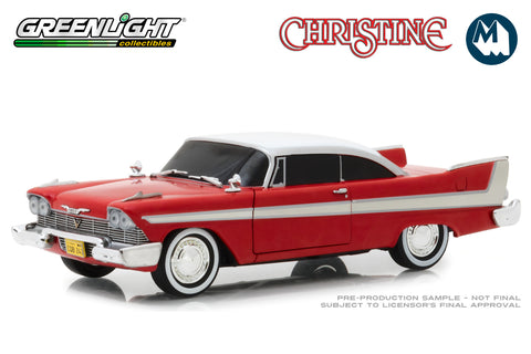 1:24 - Christine / 1958 Plymouth Fury (Evil Version with Blacked Out Windows)