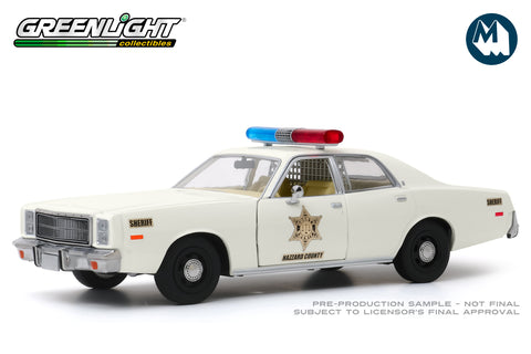 1:24 - 1977 Plymouth Fury / Hazzard County Sheriff