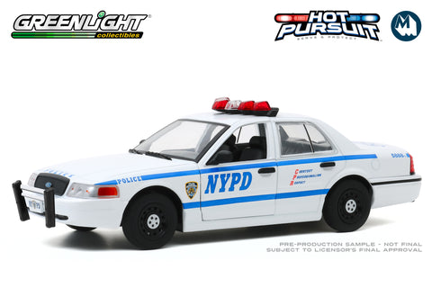 1:24 - 2011 Ford Crown Victoria Police  / New York City Police Dept (NYPD)