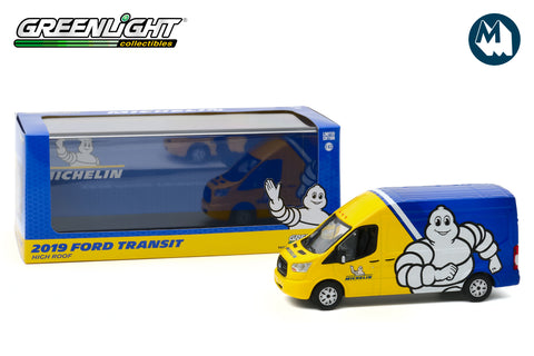 1:43 - 2019 Ford Transit LWB High Roof (Michelin Tyres)