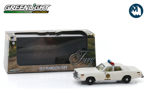 1:43 - Hazzard County Sheriff  / 1977 Plymouth Fury