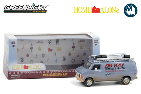 "1:43 - Home Alone / 1986 Dodge Ram Van ""Oh-Kay Plumbing & Heating"""