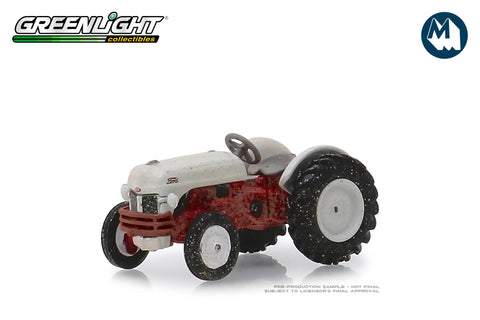 "1948 Ford 8N Tractor - White and Red ""Weathered"""