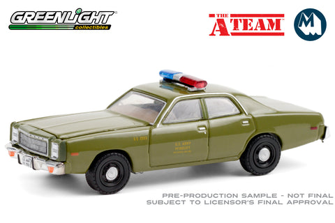 The A-Team / 1977 Plymouth Fury U.S. Army Police
