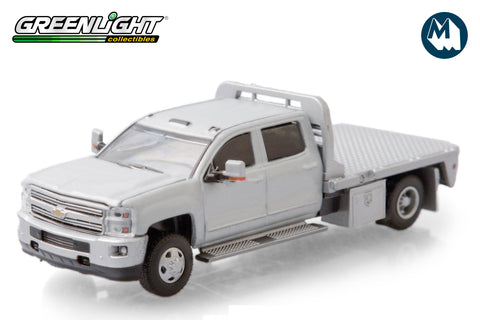 2015 Chevrolet Silverado 3500 Dually Flat Bed - Silver Ice Metallic