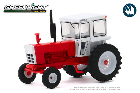 1973 Tractor with Closed Cab - Red and White