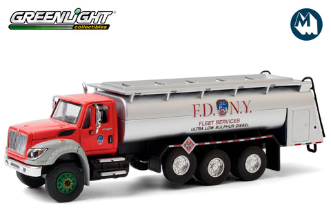 2018 International WorkStar Tanker Truck - FDNY (The Official Fire Department City of New York) Ultra Low Sulphur Diesel