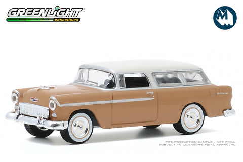 1955 Chevrolet Two-Ten Handyman (Navajo Tan and India Ivory)