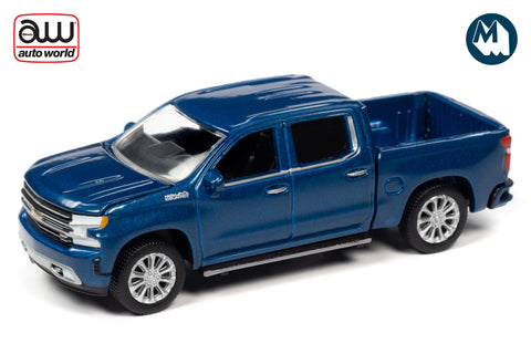 2019 Chevy Silverado High Country (North sky Blue Poly)