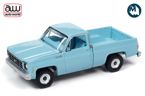 1979 Chevy C10 Scottsdale Fleetside (Light Blue)