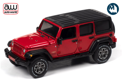 2018 Jeep Wrangler Unlimited Sahara (Firecracker Red w/Black Flat Roof)