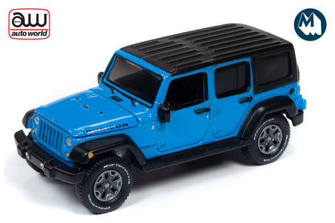 2018 Jeep Wrangler (Chief Blue with Flat Black)