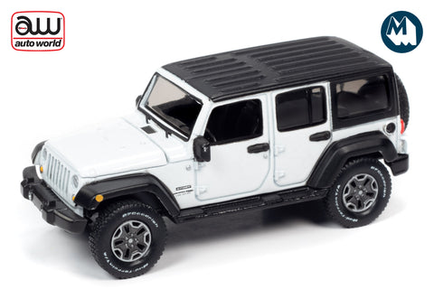 2018 Jeep Wrangler JK Unlimited Sport (Gloss White with Flat Black)