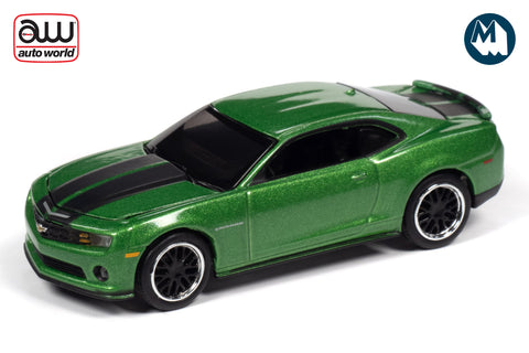 2011 Chevrolet Camaro RS/SS (Synergy Green w/Black Stripes)