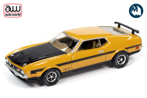 1971 Ford Mustang Boss 351 (Medium Yellow Gold)