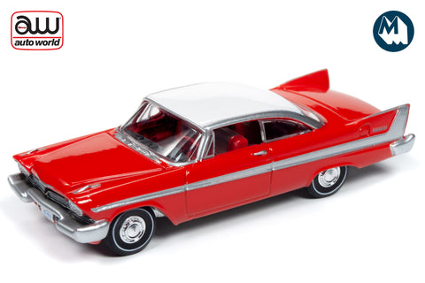 1958 Plymouth Belvedere (Toreador Red with Iceberg White Roof)
