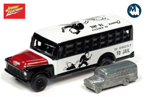Chevrolet School Bus & Token / Monopoly